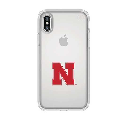IPH-X-CL-PRE-NB-D101: FB Nebraska iPhone X Presidio Clear
